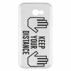 Чохол для Samsung A7 2017 Keep your distance
