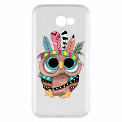 Чохол для Samsung A7 2017 Little owl with feathers