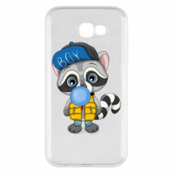 Чехол для Samsung A7 2017 Little raccoon
