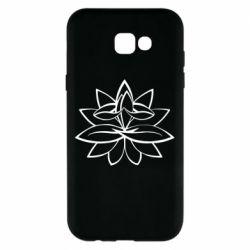 Чохол для Samsung A7 2017 Lotus yoga