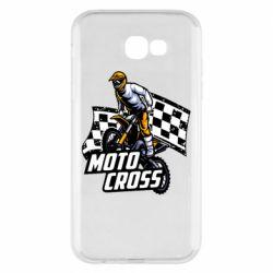 Чехол для Samsung A7 2017 Motocross