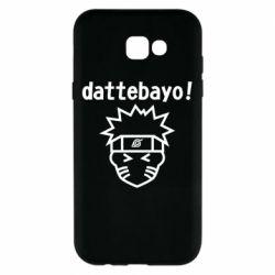 Чохол для Samsung A7 2017 Naruto dattebayo!