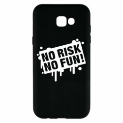 Чохол для Samsung A7 2017 No Risk No Fun