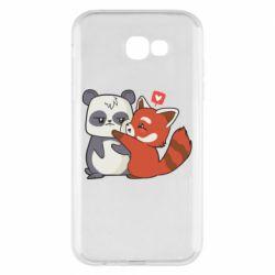 Чохол для Samsung A7 2017 Panda and fire panda