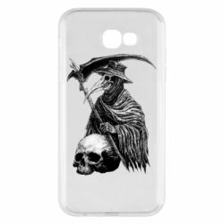 Чехол для Samsung A7 2017 Plague Doctor graphic arts