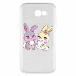 Чохол для Samsung A7 2017 Rabbits In Love