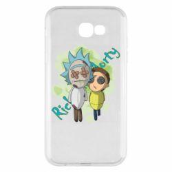 Чохол для Samsung A7 2017 Rick and Morty voodoo doll