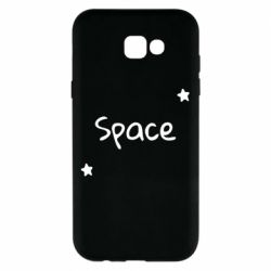 Чохол для Samsung A7 2017 Space: Letters and Stars Print