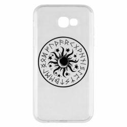 Чохол для Samsung A7 2017 Sun in runes