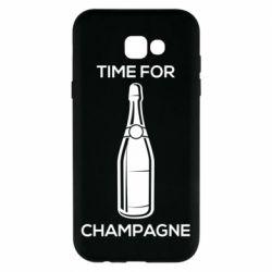 Чохол для Samsung A7 2017 Time for champagne