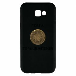 Чохол для Samsung A7 2017 Toss a coin to your witcher ( орен )