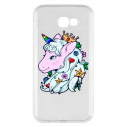 Чохол для Samsung A7 2017 Unicorn Princess