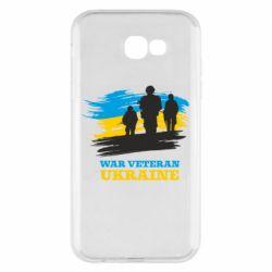 Чохол для Samsung A7 2017 War veteran оf Ukraine
