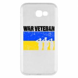 Чохол для Samsung A7 2017 War veteran