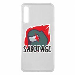 Чохол для Samsung A7 2018 Among Us Sabotage