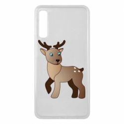 Чехол для Samsung A7 2018 Cartoon deer