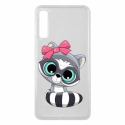 Чехол для Samsung A7 2018 Cute raccoon