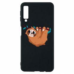 Чохол для Samsung A7 2018 Cute sloth