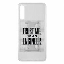 Чохол для Samsung A7 2018 Довірся мені я інженер
