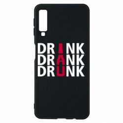 Чехол для Samsung A7 2018 Drink Drank Drunk