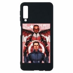 Чохол для Samsung A7 2018 Falcon and the Winter Soldier Art