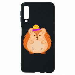 Чохол для Samsung A7 2018 Little hedgehog in a hat