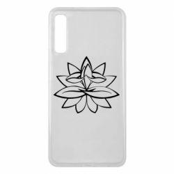 Чохол для Samsung A7 2018 Lotus yoga
