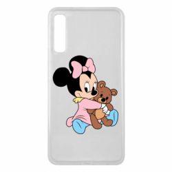 Чохол для Samsung A7 2018 Minnie And Bear