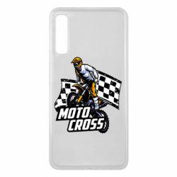 Чехол для Samsung A7 2018 Motocross