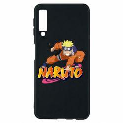 Чохол для Samsung A7 2018 Naruto with logo