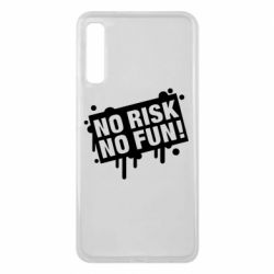 Чохол для Samsung A7 2018 No Risk No Fun