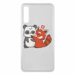 Чохол для Samsung A7 2018 Panda and fire panda