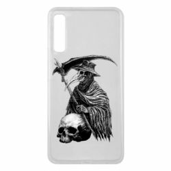 Чехол для Samsung A7 2018 Plague Doctor graphic arts