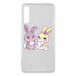 Чохол для Samsung A7 2018 Rabbits In Love