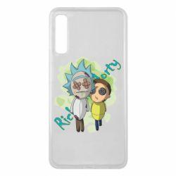 Чохол для Samsung A7 2018 Rick and Morty voodoo doll