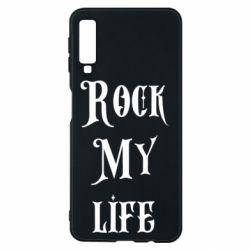 Чехол для Samsung A7 2018 Rock my life