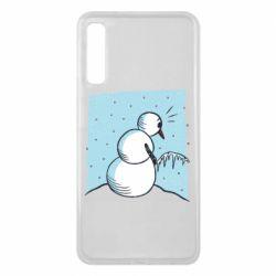 Чохол для Samsung A7 2018 Snowman. It's Cold!
