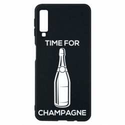 Чохол для Samsung A7 2018 Time for champagne