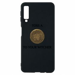 Чохол для Samsung A7 2018 Toss a coin to your witcher ( орен )