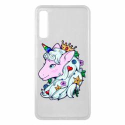 Чохол для Samsung A7 2018 Unicorn Princess