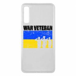 Чохол для Samsung A7 2018 War veteran