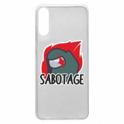 Чохол для Samsung A70 Among Us Sabotage