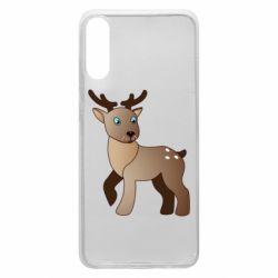 Чехол для Samsung A70 Cartoon deer
