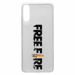 Чехол для Samsung A70 Free Fire spray