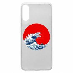 Чохол для Samsung A70 Godzilla Wave