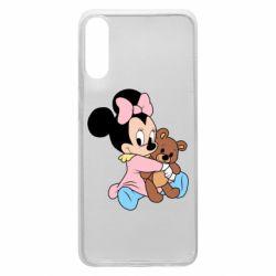 Чохол для Samsung A70 Minnie And Bear