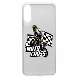 Чехол для Samsung A70 Motocross