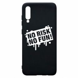 Чохол для Samsung A70 No Risk No Fun