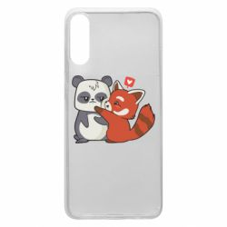 Чохол для Samsung A70 Panda and fire panda