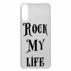 Чехол для Samsung A70 Rock my life
